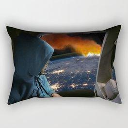 Global Warming Rectangular Pillow