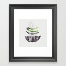 Steamed | 100 Days of Cookbook Spots Framed Art Print