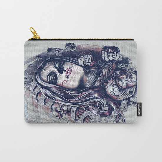 Coyolxauhqui Carry-All Pouch