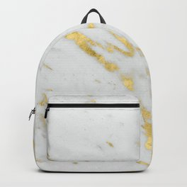 Treviso gold marble Backpack