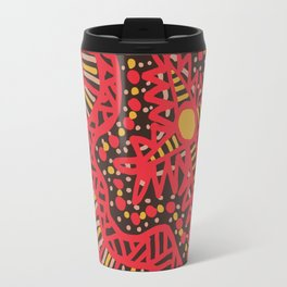 Doodle 16 Red Travel Mug