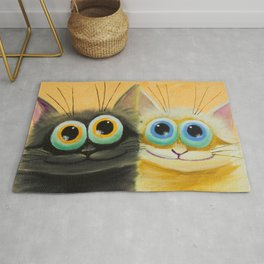 two friends Rug