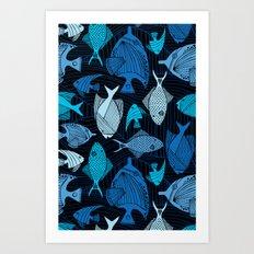 Oceanic Art Print