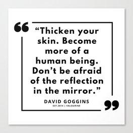 27    David Goggins Quotes   190901 Canvas Print