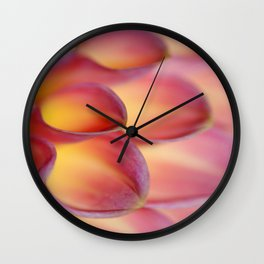 Magic Dahlia Wall Clock