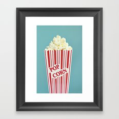 Pop Corn Framed Art Print
