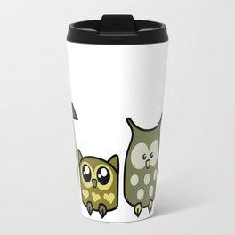 All is Owly (gold) Travel Mug