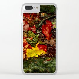 Saturated Autumn Clear iPhone Case