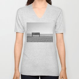 Is this what lonely feels like? Unisex V-Neck
