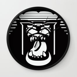 bearHead Logo Wall Clock