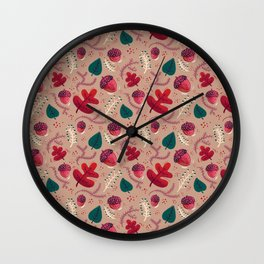 Nature Calls Wall Clock