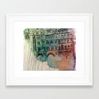 hero Framed Art Prints featuring Hero by Colleen Maeve