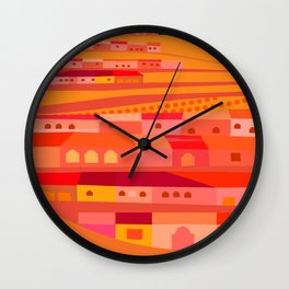 Rosarito Road Wall Clock
