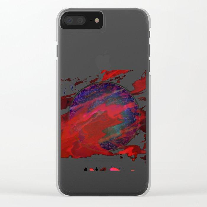 Atmospheric Disturbance - World 22-01-17 Clear iPhone Case