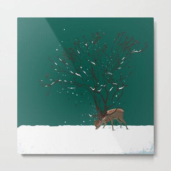 Winter Is All Over You Metal Print