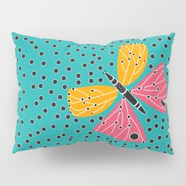 Butterfly with dots Pillow Sham