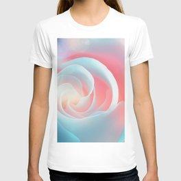 Rose flower and bokeh- Roses T-shirt