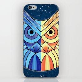 Geometric Owl iPhone Skin