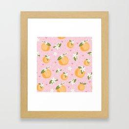 Orange Blossom Special Framed Art Print