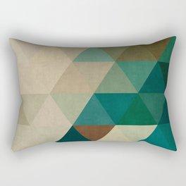 Triangular Composition I Rectangular Pillow