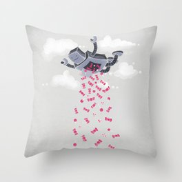 Oh, Happy Day! Throw Pillow