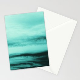 Mint-Green Ocean Vibes #1 #decor #art #society6 Stationery Cards