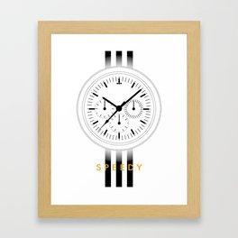 Omega Speedmaster NATO (Speedy) Framed Art Print