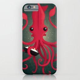Kraken Attaken iPhone Case