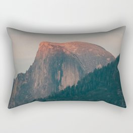 Half Dome Sunset in Yosemite Rectangular Pillow