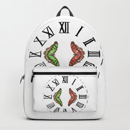 My Fluttery Clock Backpack