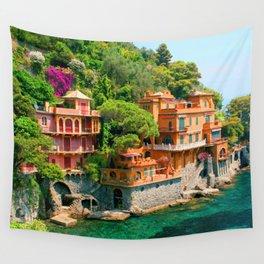 Italy. Portofino Wall Tapestry