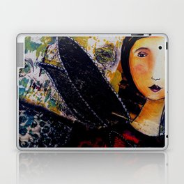 Lady Butterfly Laptop & iPad Skin