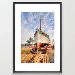 Dry Docked Mister Jim   Framed Art Print