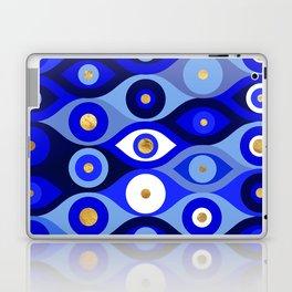 Greek Mati Mataki - Matiasma Evil Eye blues Laptop & iPad Skin