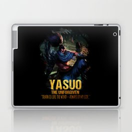 League of Legends YASUO - The Unforgiven - video games champion Laptop & iPad Skin