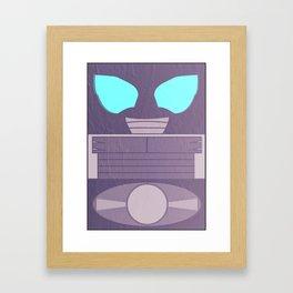 Kamen Rider Super-1 Framed Art Print