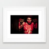 christ Framed Art Prints featuring Christ by Kayleigh Shawn