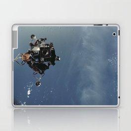 Apollo 9 - Lunar Module Over Earth Laptop & iPad Skin