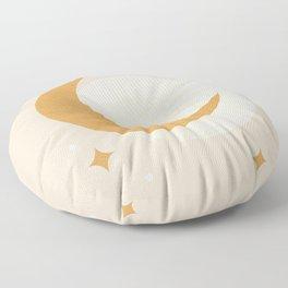 Moon Sparkle - Celestial Floor Pillow