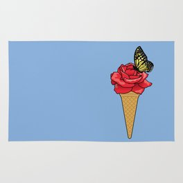 Butterfly Ice Cream Rug