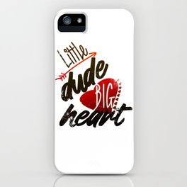 Cool Valentines Day T-Shirt Gift for Him iPhone Case