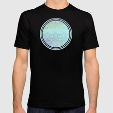 Up In The Sky MEDIUM Black Mens Fitted Tee