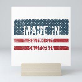 Made in Salton City, California Mini Art Print