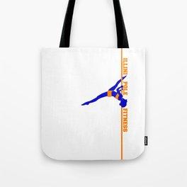 Illini Pole Fitness Logo Tote Bag
