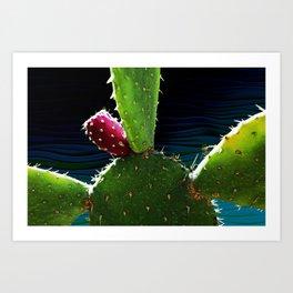 Cactus Needs A Hug Art Print