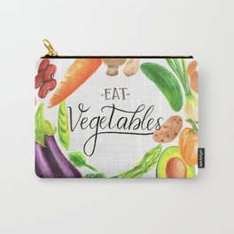 Eat vegetables Carry-All Pouch