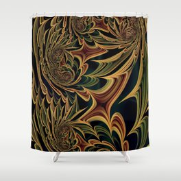 Floral Fantasy 03 Shower Curtain