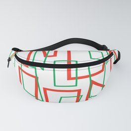 Rectangles 4 Fanny Pack