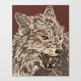 Enraged Canvas Print
