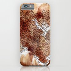 The skin of Cheetah iPhone 6s Slim Case